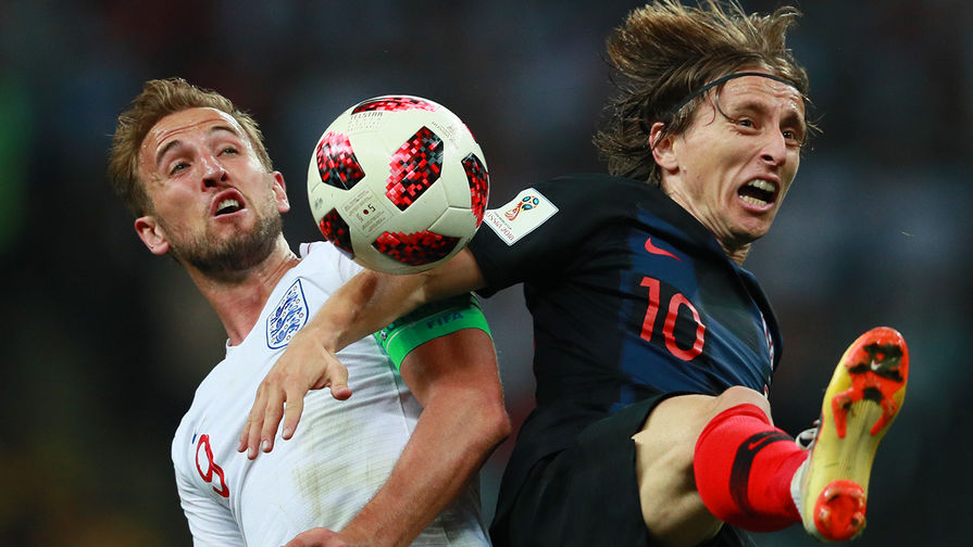 Хорватия сыграла вничью с Англией в матче Лиги наций