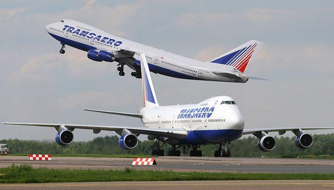 Самолеты «Трансаэро» ищут хозяина
