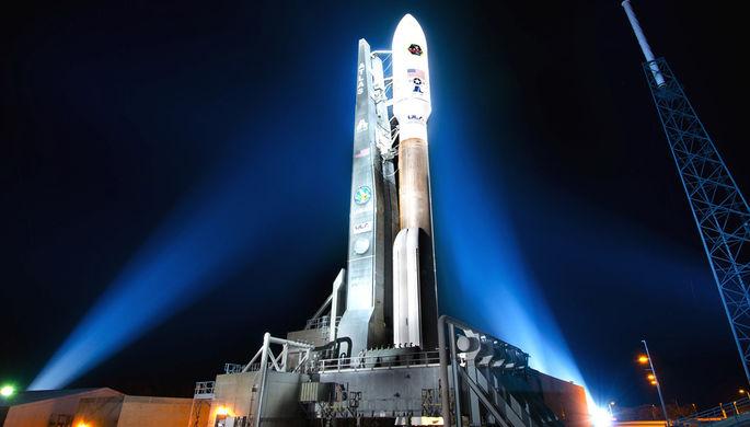 Ракета Atlas V, в первой ступени которой используется двигатель РД-180