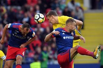 ЦСКА победил «Ростов» в матче десятого тура РФПЛ