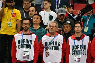 Допинг-контроль на соревнованиях