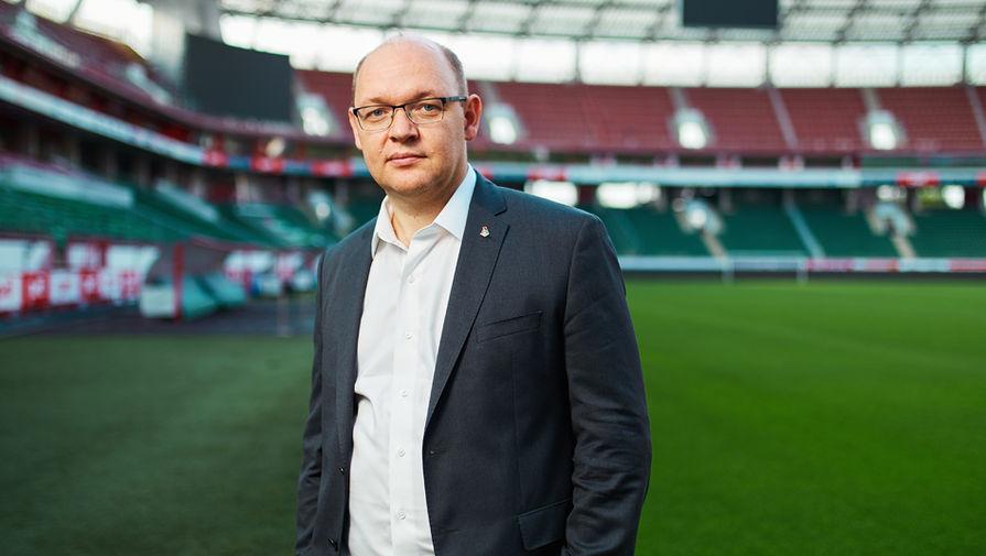 Бывший генеральный директор «Локомотива» Илья Геркус