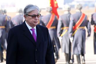 Президент Казахстана Касым-Жомарт Токаев в Москве, 3 апреля 2019 года