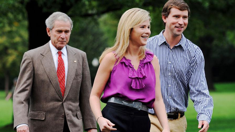 Дочь Джорджа Буша-младшего станет матерью в третий раз