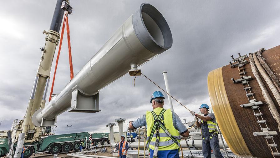 Способная достроить «Северный поток-2» баржа вышла из порта