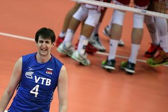 Сборная России потерпела восьмое поражение в Мировой лиге