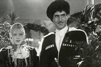 Кадр из фильма «Свинарка и пастух» (1941)