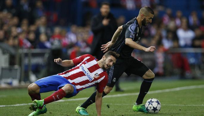 Нападающий «Реала» Карим Бензема сотворил в ответном матче полуфинала Лиги чемпионов с...