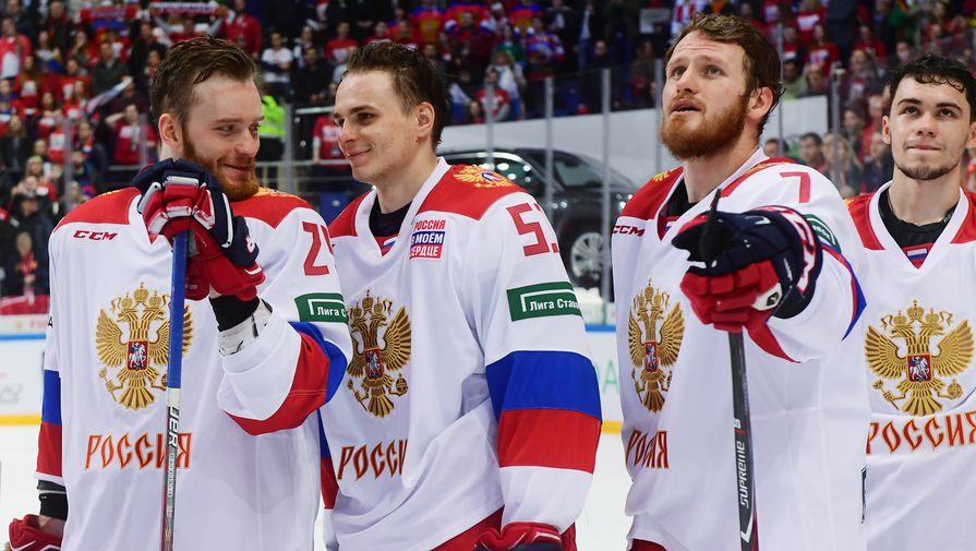 Сборная России обыграла Швецию в матче Кубка Первого канала