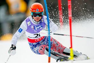 Российский горнолыжник Иван Кузнецов