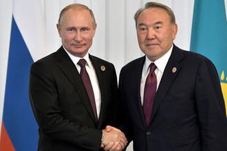 Встреча Владимира Путина с Президентом Республики Казахстан Нурсултаном Назарбаевым