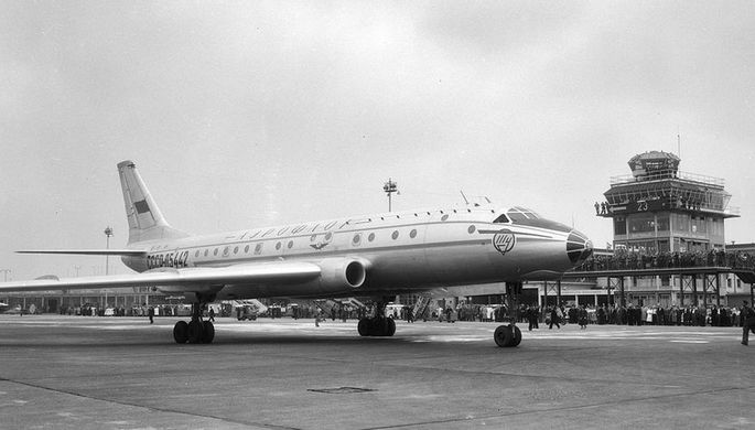 «Англичане молчали»: как Ту-104 удивил Запад