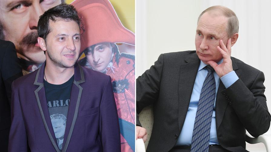 Зеленский намерен сесть за стол переговоров с Путиным