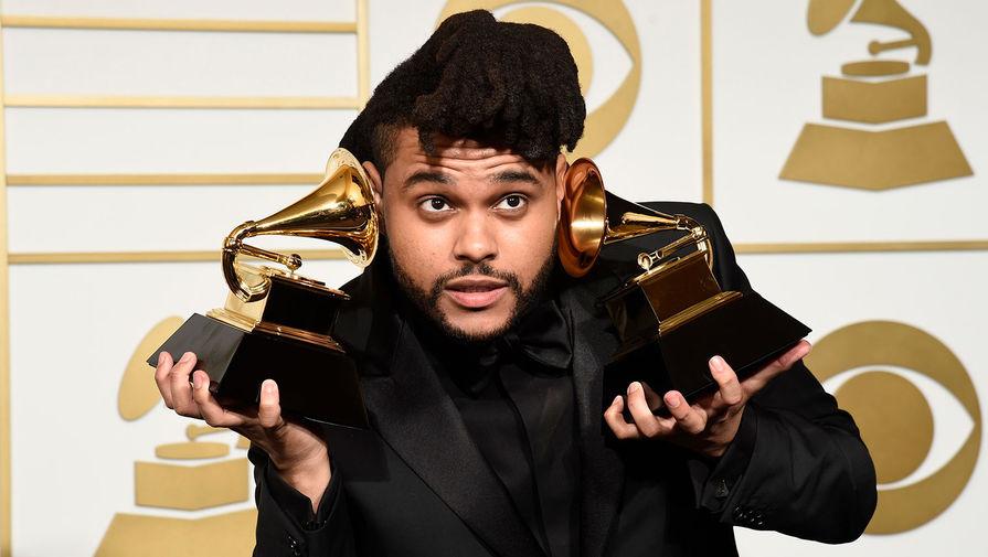 The Weeknd с двумя наградами на 58-й ежегодной церемонии вручения премии «Грэмми», 2016 год