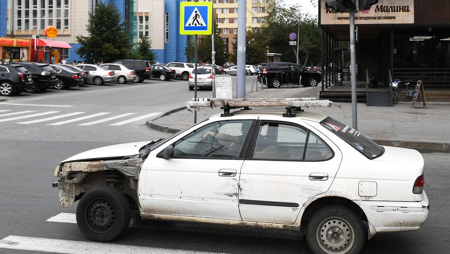 В России вырос средний возраст частных автомобилей