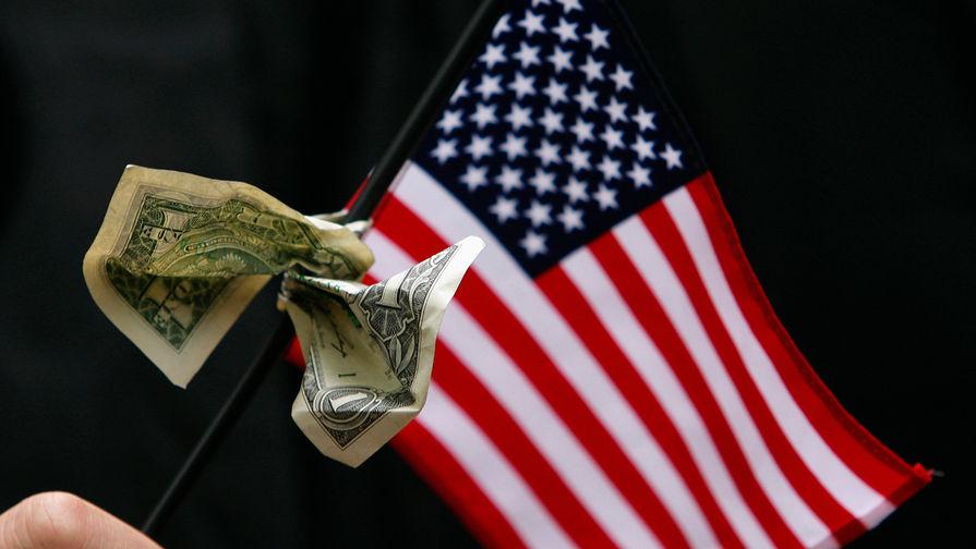 Дефицит бюджета США достиг рекордного показателя за месяц