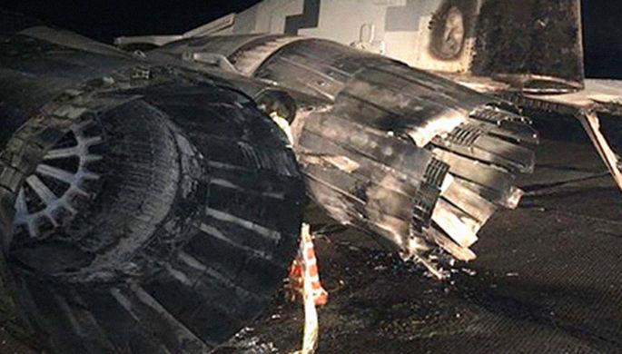 Под Киевом инженер на Volkswagen вывел из строя МиГ-29