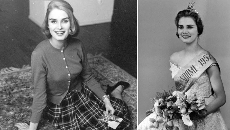 Марита Линдаль (Финляндия), 18 лет, Мисс Мира — 1957