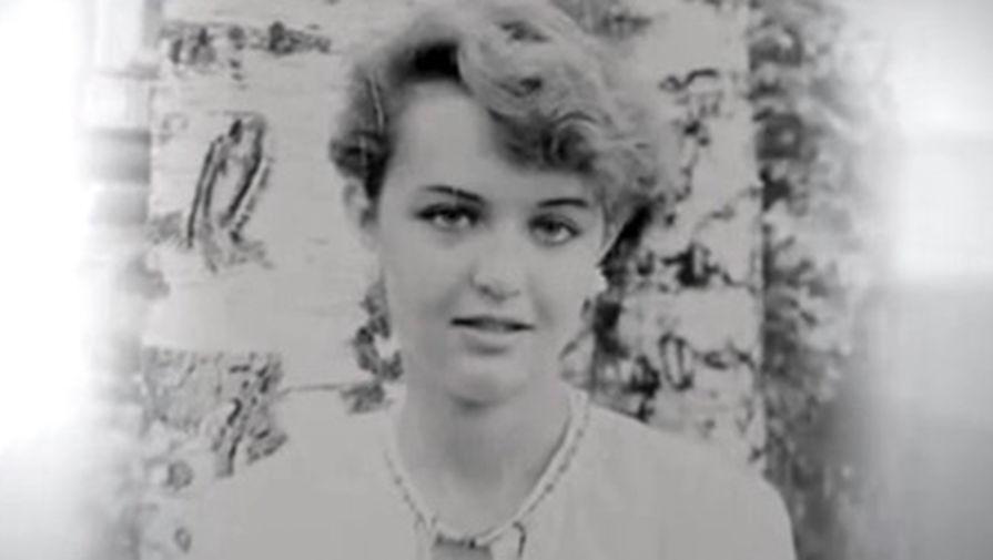 Татьяна Проценко в молодости