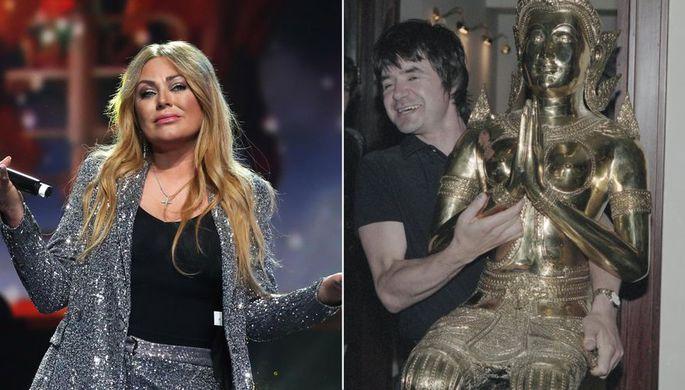 Юлия Началова и Евгений Осин, коллаж «Газеты.Ru»