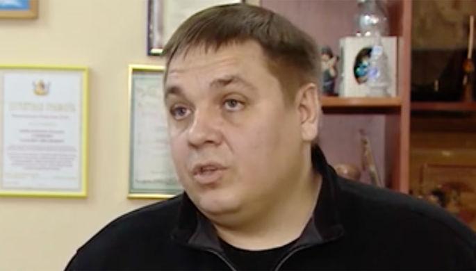 Заместитель начальника ГИБДД Воронежской области Игорь Качкин (кадр из видео)