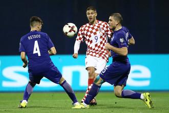Стыковой матч Греция — Хорватия
