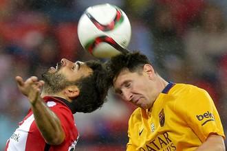 «Атлетик» из Бильбао разгромил «Барселону»