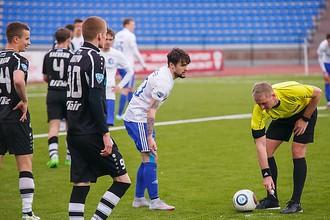 Судья назначил три пенальти в ворота «Факела» в матче с «Тюменью»