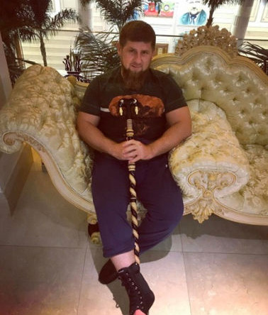 Глава Чечни Рамзан Кадыров, май 2017 года
