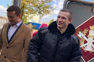 Осужденный Евгений Макаров вышел на свободу, 2 октября 2018 года