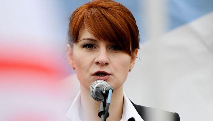 Мария Бутина в Москве, 26 октября 2019 года