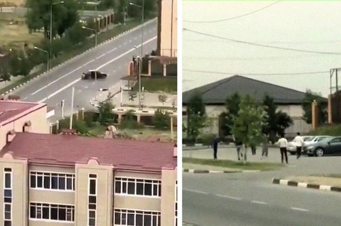Кадры из видео, коллаж «Газеты.Ru»