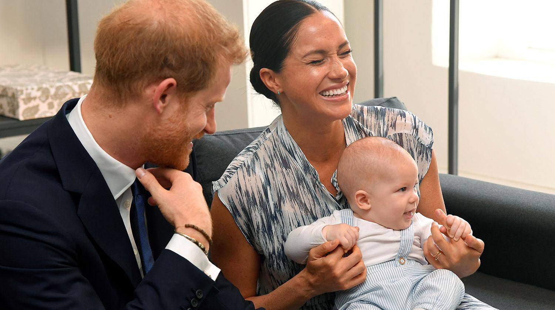 Время пришло: Меган и Гарри взяли сына на встречу - Газета.Ru | Фото