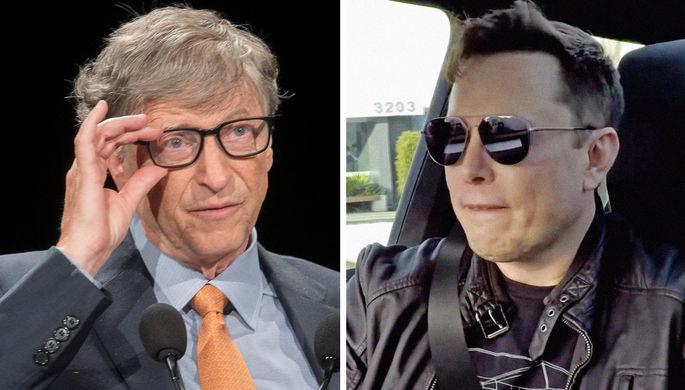 «Не разбирается в вакцинах»: Гейтс раскритиковал Маска
