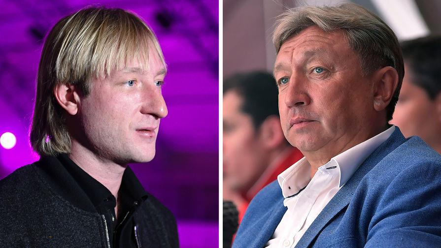 Евгений Плющенко и Ренат Лайшев (коллаж)