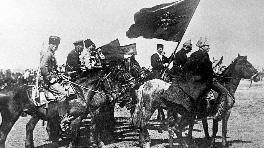 Гражданская война и иностранная интервенция в России (1917-1922 гг.). Бойцы Первой Конной армии С. М. Буденного