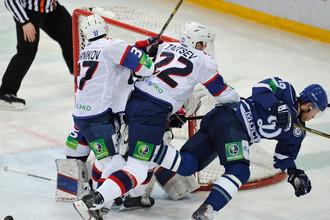 «Сибири» удалось в концовке отыграть две шайбы
