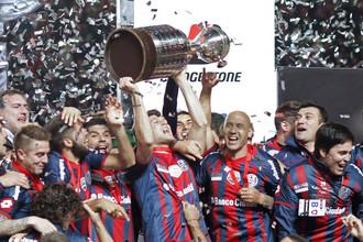 Аргентинский «Сан-Лоренсо» — обладатель Кубка Либертадорес 2014 года