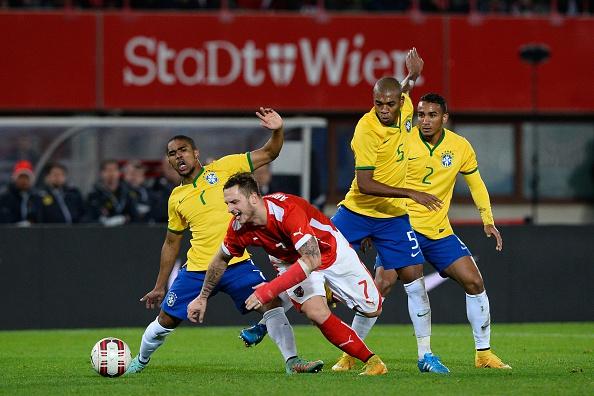 Бразилия обыграла австрийцев