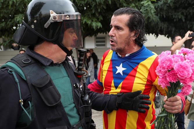 Референдум в Барселоне, 1 октября 2017