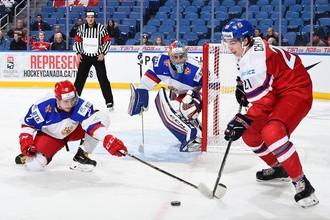 Сборная России среди молодежи уступила команде Чехии на чемпионате мира в Баффало
