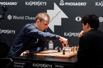 Шахматист Александр Грищук
