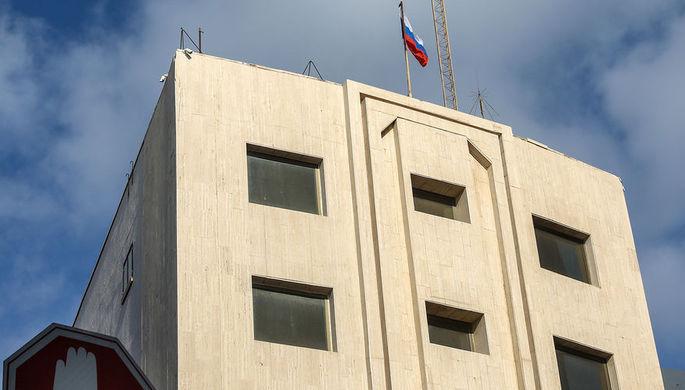 Здание посольства России в Тель-Авиве, 2018 год