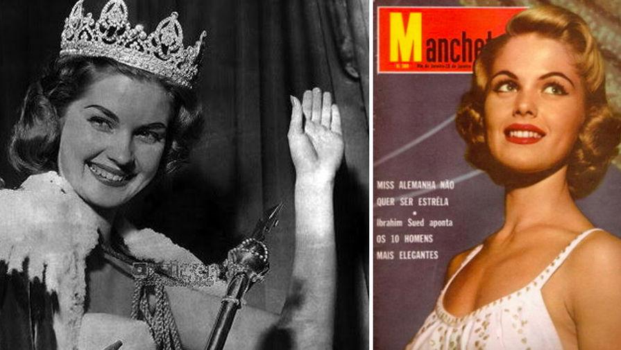 Корин Спир-Роттшефер (Нидерланды), 21 год, Мисс Мира — 1959