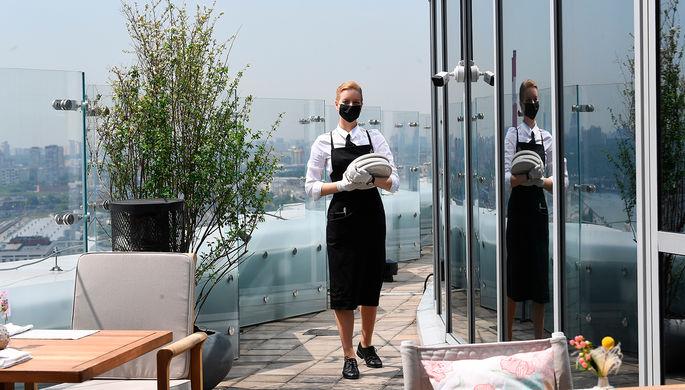 В ресторанах могут появиться зоны, свободные от COVID-19