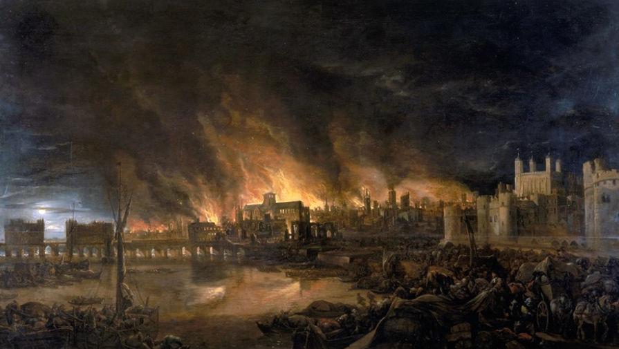 350 лет назад начался знаменитый Лондонский пожар