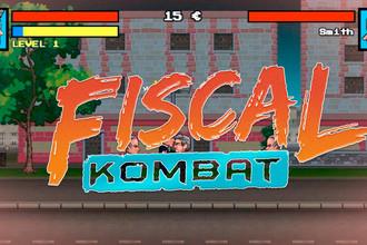Кадр из игры Fiscal Kombat
