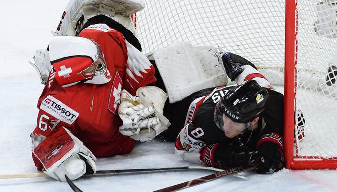 Сборная Канады не сдержала натиска команды Швейцарии