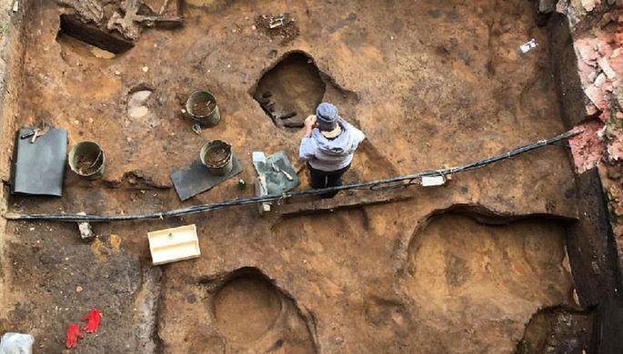 Тайны древних людей: в черепе мамонта нашли клад