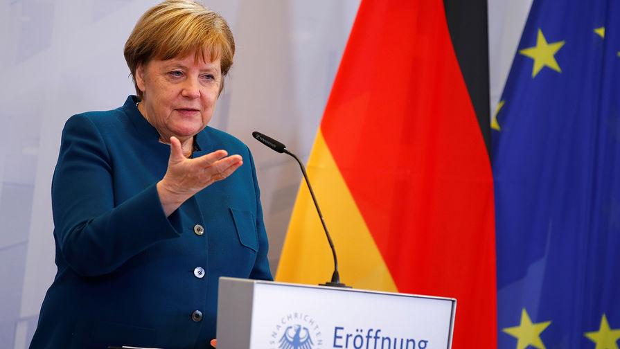 Меркель: ЕС не будет полагаться только на российский газ